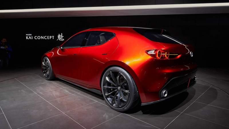 Mazda Kai Concept Rear 3/4
