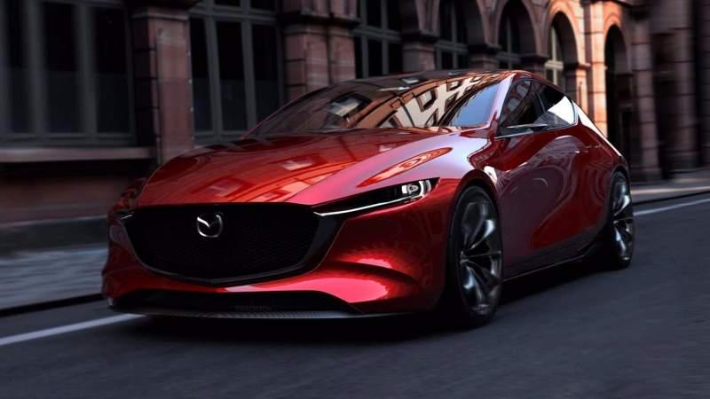 Mazda Kai Concept Front 3/4 3