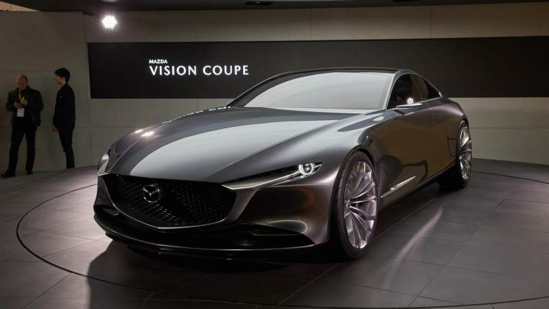 Mazda Vision Coupe Concept Front 3/4