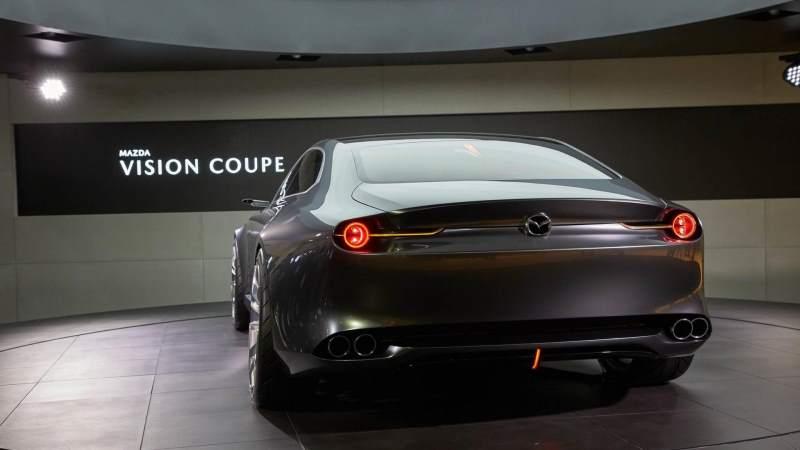 Mazda Vision Coupe Concept Rear