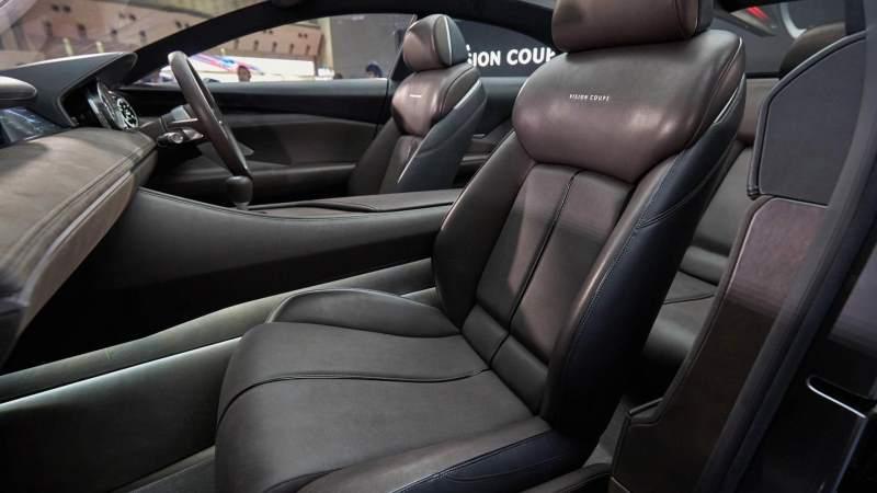 Mazda Vision Coupe Concept Interior Front