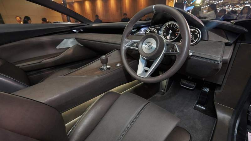 Mazda Vision Coupe Concept Steering Wheel
