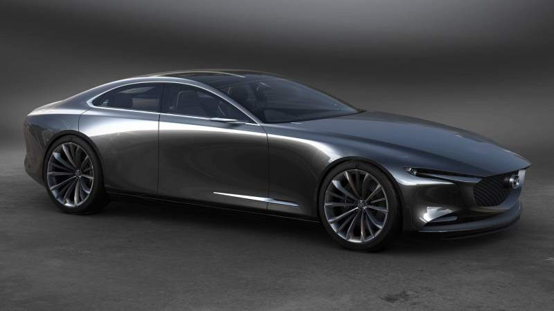 Mazda Vision Coupe Concept Front 3/4 2