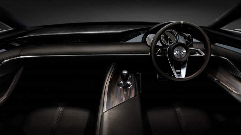 Mazda Vision Coupe Concept Cockpit
