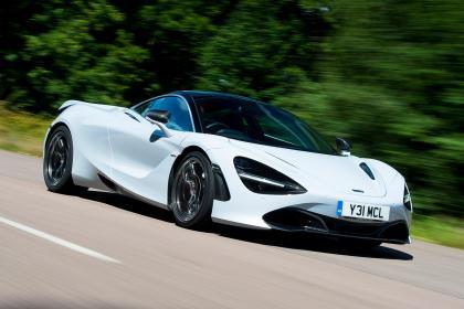 McLaren 720S Front 3/4 Rolling