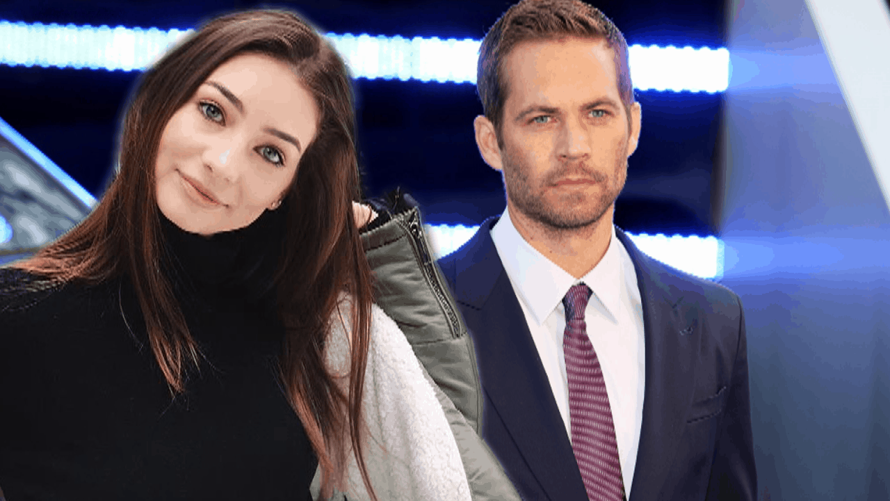 Paul Walker with his daughter