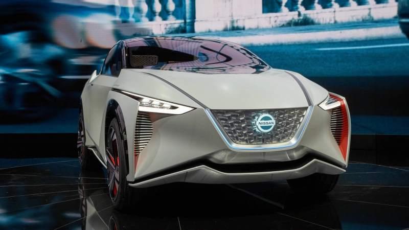 Nissan IMx Concept Front