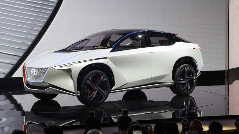 Nissan IMx Concept Front 3/4 2