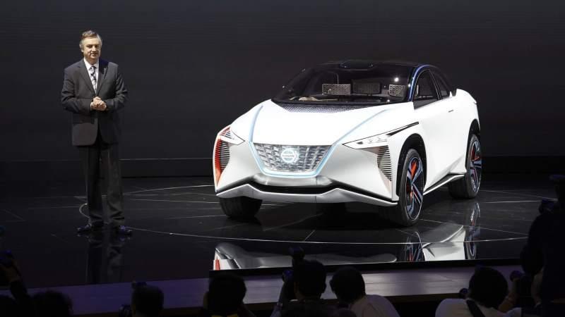 Nissan IMx Concept Auto Show Unveiling