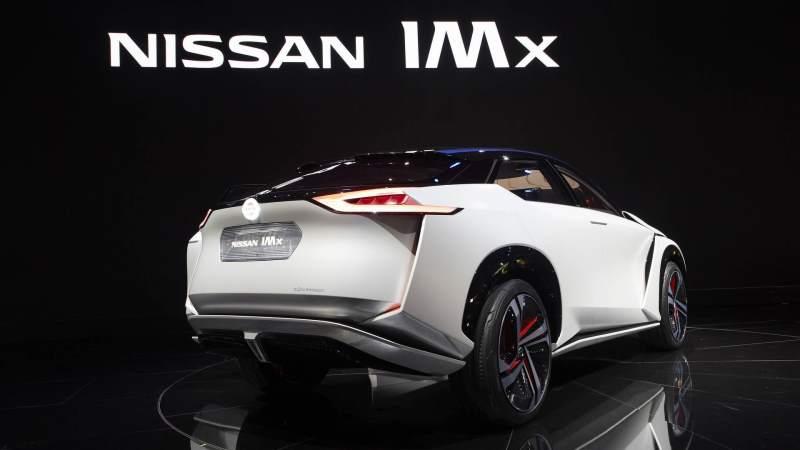Nissan IMx Concept Rear 3/4