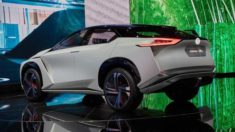 Nissan IMx Concept Rear 3/4 2