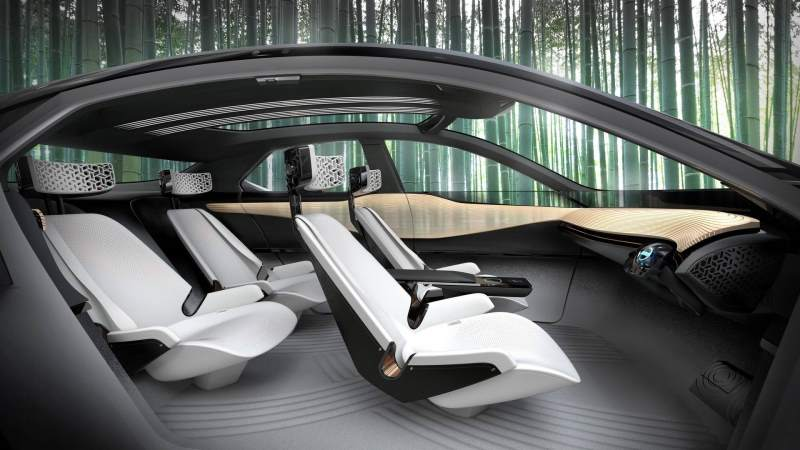 Nissan IMx Concept Interior Profile