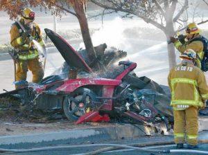Paul Walker Porsche Crash