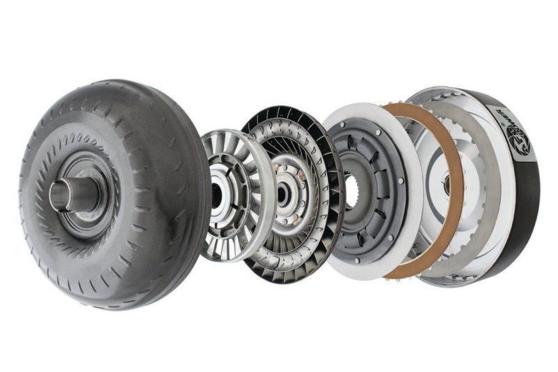 A dissected torque converter