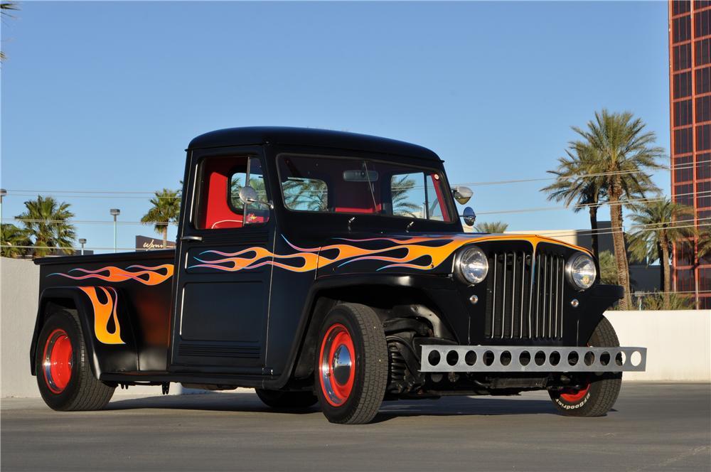 Willys custom trucks can be show winners