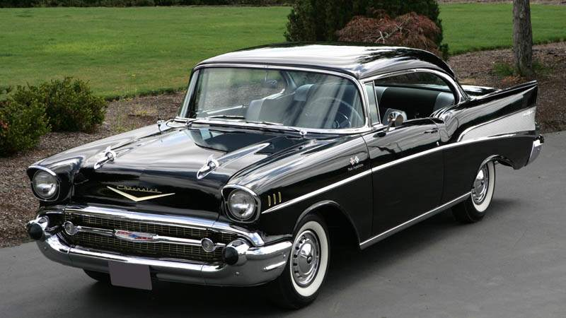 Chevrolet Bel Air Front 3/4 High