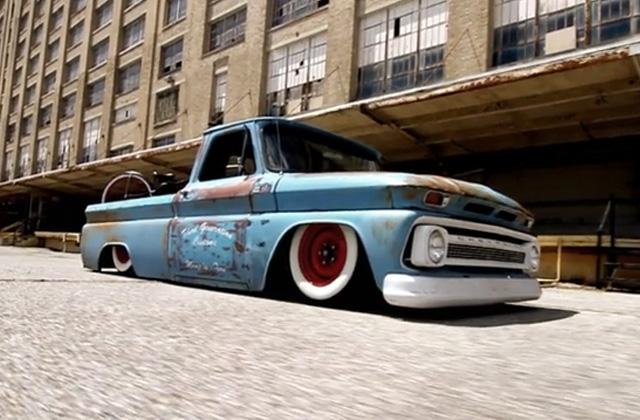 Rat rods are very unique custom trucks.