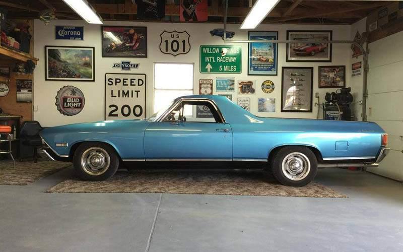 Chevrolet El Camino profile