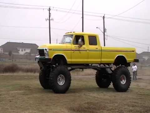 Lifted trucks naked