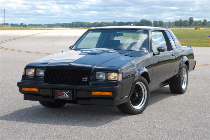1987 Buick GNX Chassis number #003 To Be Sold At An Auction Next Year