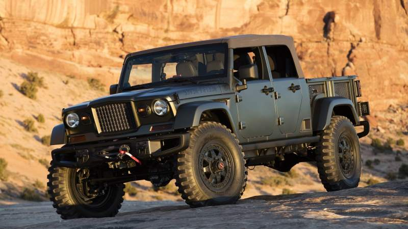 2016 Jeep Crew Chief 715