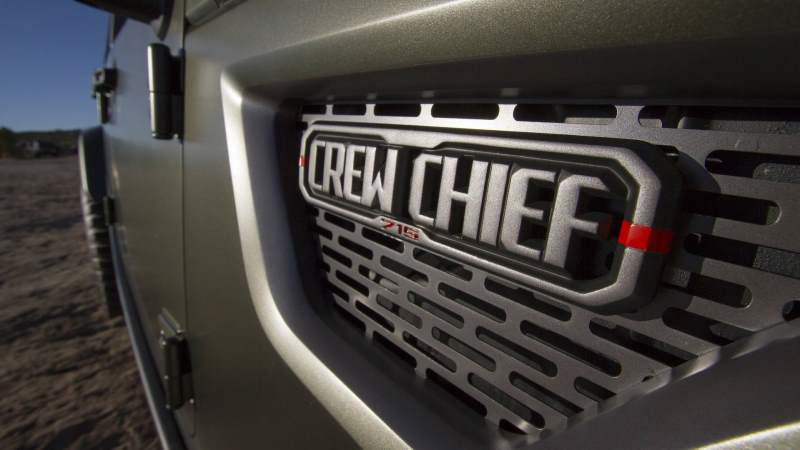 2016 Jeep Crew Chief 715