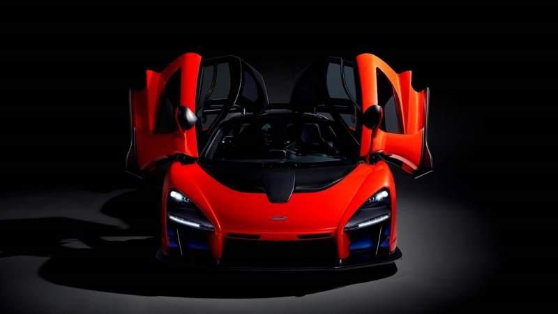 McLaren Senna Front