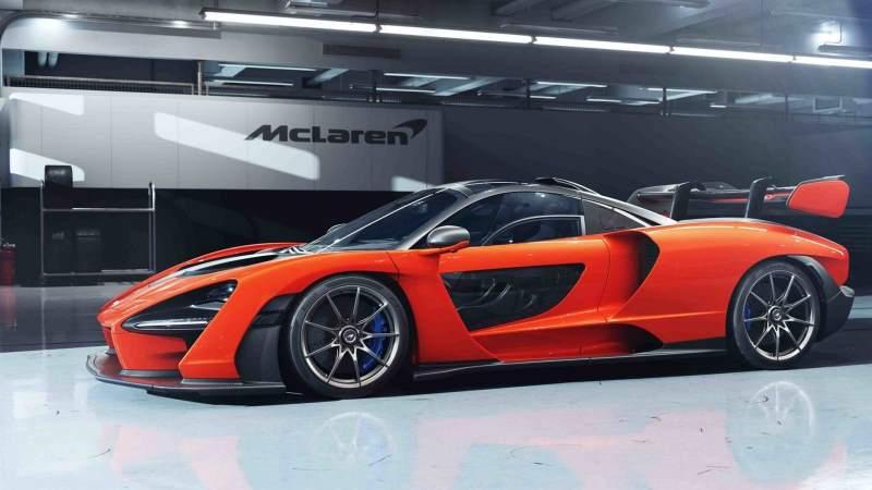 McLaren Senna Low 3/4