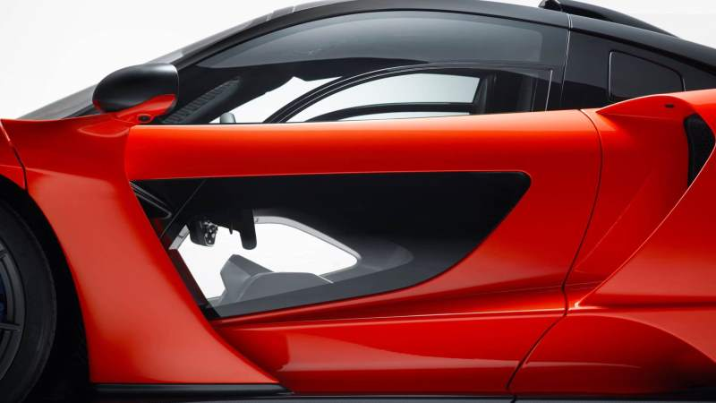 McLaren Senna Door Window