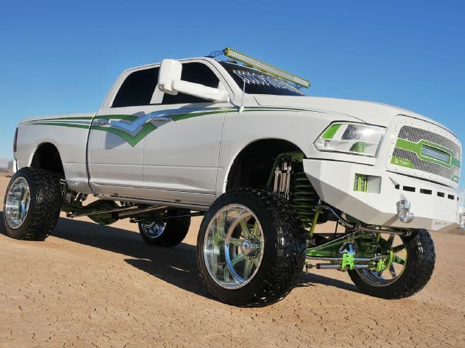 This Dodge is teh Beast Mode of lifted trucks.