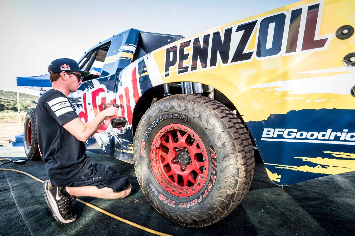 Bryce Menzies drives the most badass trophy truck on our list.
