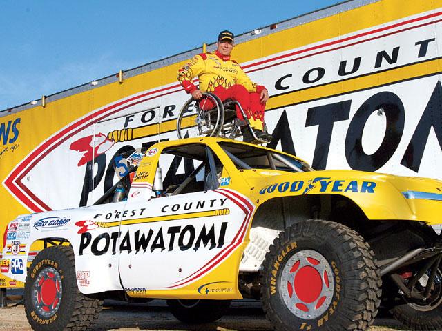 Evan Evans Hand Controlled Race Truck