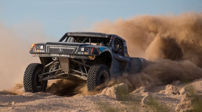 Jerry Welchel won 250 races that included dozens in a trophy truck.