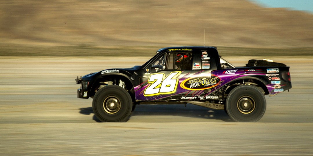 Trophy truck land speed record holder