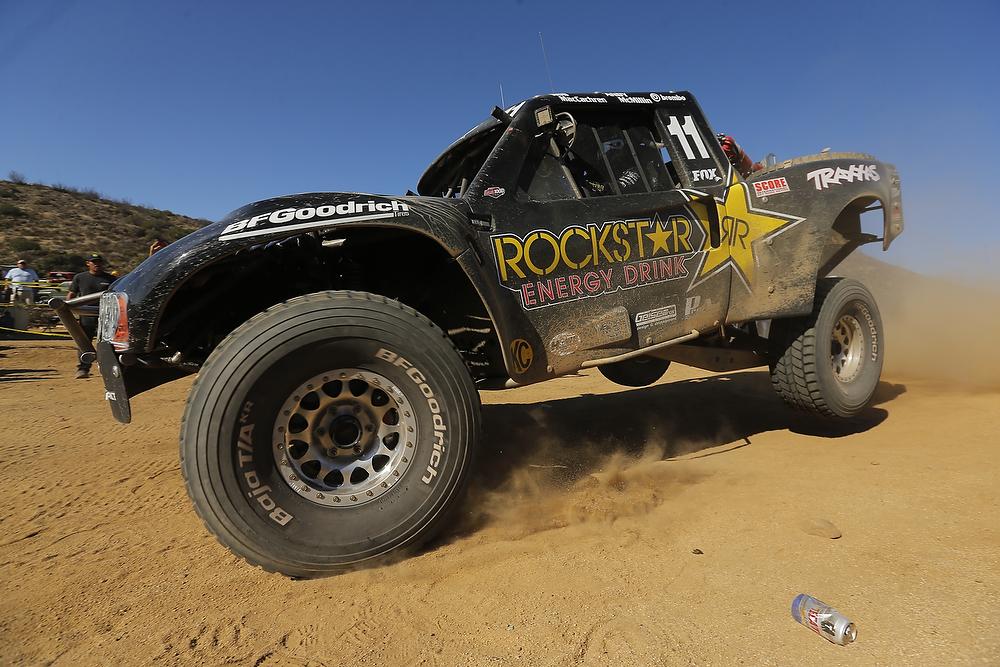 Legendary trophy truck driver Rob MacCachran's trophy truck.
