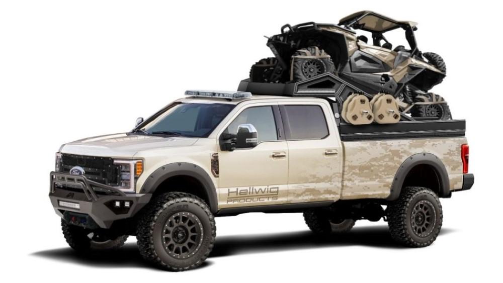 Fords make for great custom trucks.