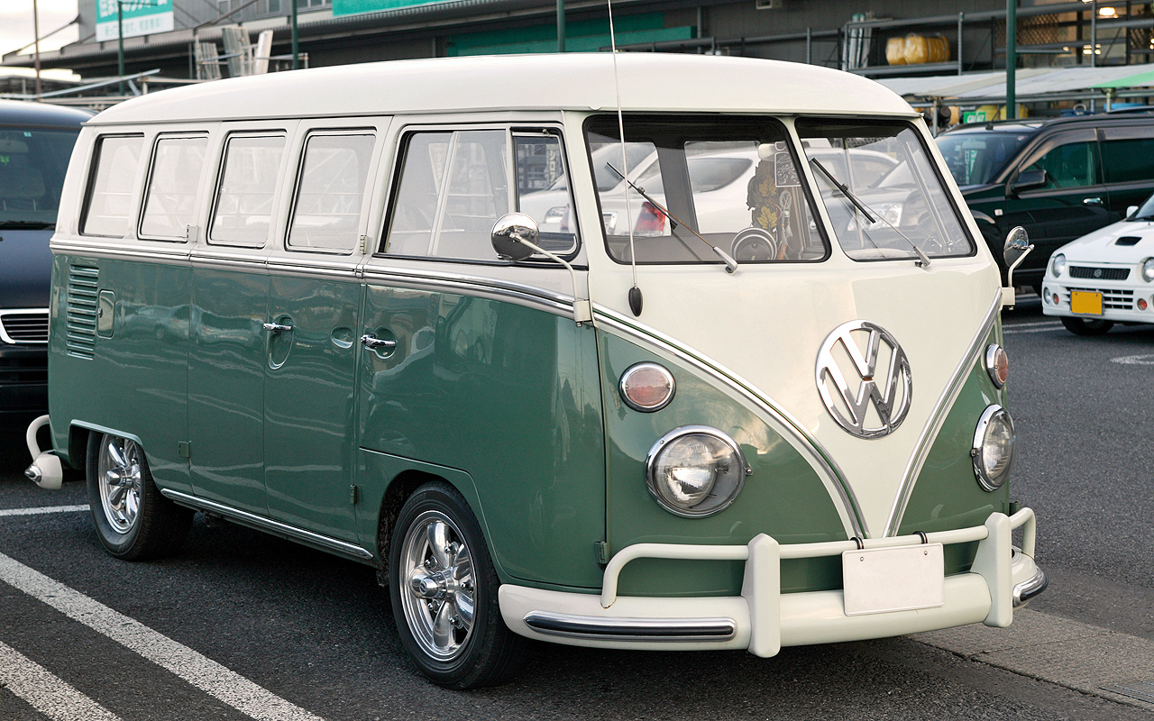 Used minivans got their start from the VW Type II