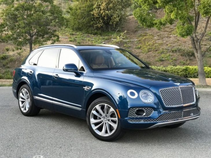 2018 Luxury Cars - Bentley Bentayga