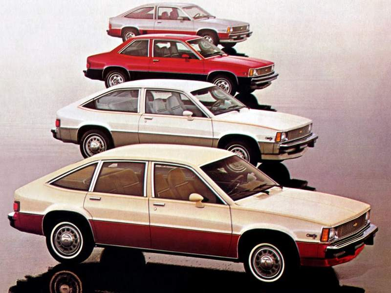 Chevrolet citation Lineup