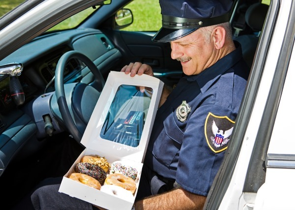 Cops love their donuts