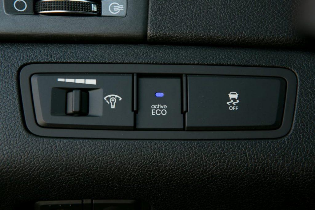 Car Eco Mode Option