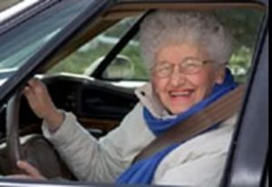 Granny didn't mean to speed