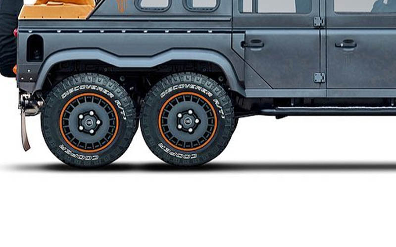 land rover defender kahn Flying Huntsman 6x6 Soft Top