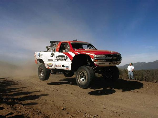 Larry Ragland is in the trophy truck Hall of Fame.