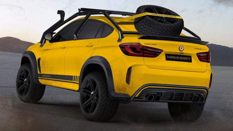 manhart mhx6 bmw x6