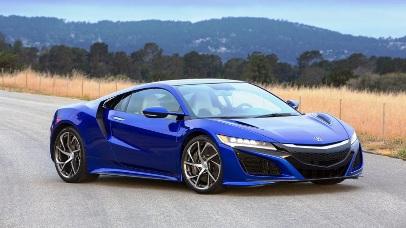 The 2018 Acura NSX is most certainly one of the sexiest and fastest hybrid cars 2018 brought to market