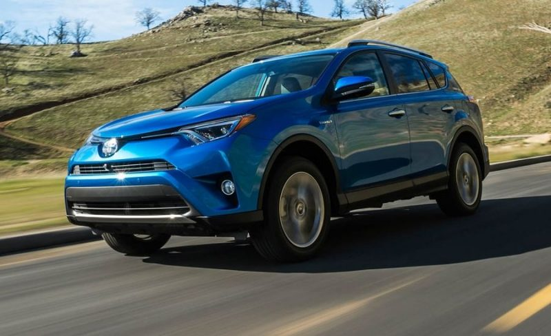 Best 2018 SUV Hybrids - Toyota RAV4 Hybrid