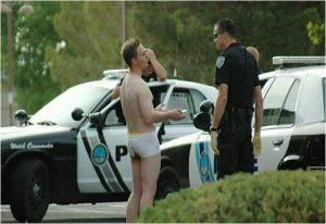 Man craps his pants and explains to cops
