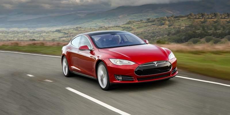 Tesla Model S Front 3/4 Rolling