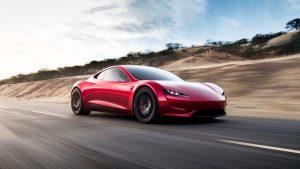 Teslas new Roadster scores search points